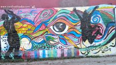 Street Graffiti Art Pakistan-2 Graffiti Art, Street Art Graffiti, Pakistan Art, Chalk Art, Moose Art, Mandala, Crafty, Creative, Artwork