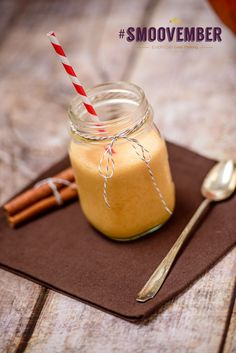 #Smoovember Spiced Pumpkin Smoothie from Everyday Good Thinking, the official blog of @Hamilton Beach