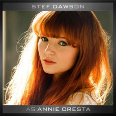 It's official! Please welcome Stef Dawson as 'Annie Cresta' to the cast of The Hunger Games: Mockingjay Parts 1&2.