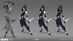 Community Canvas — Here's some concept art of Tripp from our recent...