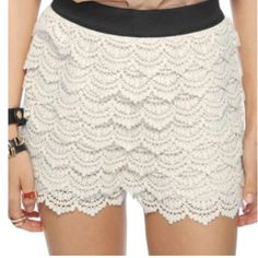 lace shorts forever 21 pics | Lace short forever 21