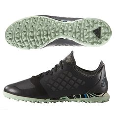 Adidas X 15.1 City Pack Brooklyn CG Turf Soccer Shoe (Dark  Grey/Black/Frozen Green)