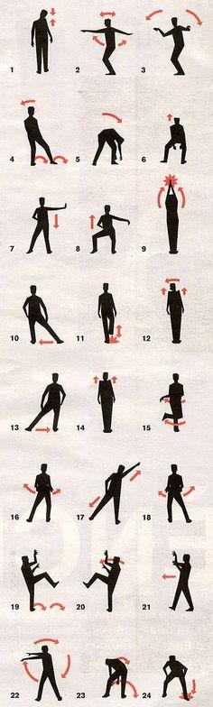 MJ Thriller choreography