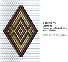 Godseye 40 beading pattern by ~MaeveIverson on deviantART
