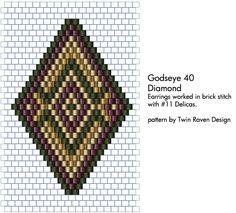 Godseye 40 beading pattern by ~MaeveIverson on deviantART