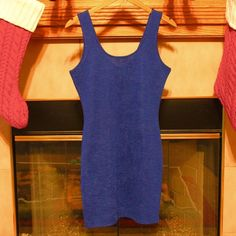 FOREVER21 dress NWOT Blue, size M dress. Never worn without tags. Forever 21 Dresses Mini
