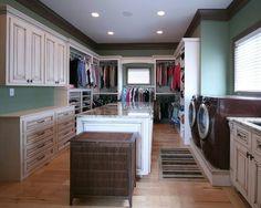 Laundry room/ family closet