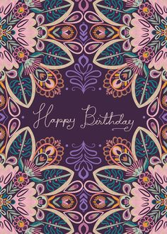 Leading Illustration & Publishing Agency based in London, New York & Marbella. Happy Birthday Art, Happy Birthday Wishes Cards, Happy Birthday Beautiful, Birthday Blessings, First Birthday Presents, Happy Wishes, Happy Birthday Images, Birthday Love, Birthday Pictures