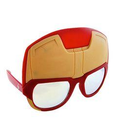 Look what I found on #zulily! Iron Man Sunglasses - Adult #zulilyfinds