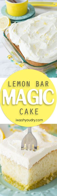 If you're a lemon fan, this dessert is for you! This Lemon Bar Magic Cake has…