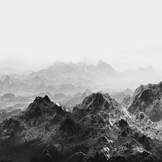 """This image is from 2015 Portfolio Prize winner @drew_nikonowicz's series """"This World and Others Like It."""" While his monochromatic landscapes evoke awe of the sublime, something darker lurks in the crevices. The photographer draws on the language of nineteenth-century..."""