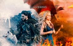 Ice and Fire - Game of Thrones on Behance