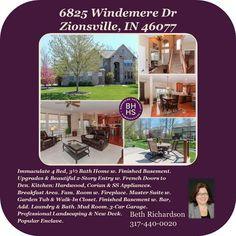Listing Agent: Beth Richardson 317-440-0020