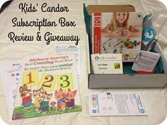 Nanny to Mommy: Kids' Candor Subscription Box Review + Giveaway