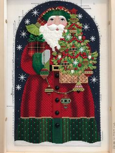 Susan Portra Returns to Absolutely Needlepoint October 10-14, 2017 Teaching Melissa Shirley's Redbird Santa, Private Lessons, Bring Your Canvas to Life & More Please call the shop 513-561…