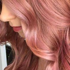 Rose Gold Hair @ig_melbournehairblogger