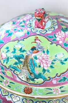Nyonya (Peranakan) Porcelain Ware | Peranakan Chinese are the descendants of Chinese immigrants who came to the Malaysia, Singapore (referred as Baba-Nyonya), and Indonesia (referred as Kiau-Seng).