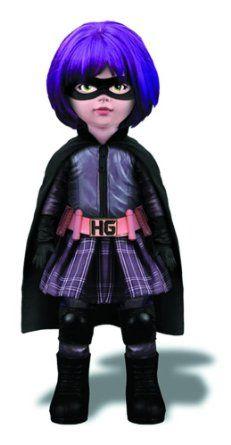 Muñecas Modelo Y Accesorios Muñecas Modelo Kick-arse Hit Girl Living Dead Dolls Exclusive Mezco Ldd Comfortable Feel