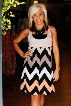 """""""Taylor"""" Dress (short) in Taupe.  $42.50.  Available at 105 West Boutique in Abbeville, SC."""