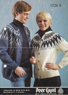 <3 Knitting Projects, Knitting Patterns, Norwegian Knitting, Fair Isle Pattern, Color Combinations, Knitwear, Knit Crochet, Vests, Sweaters