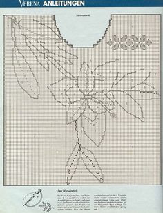 """Photo from album """"Verena"""" on Yandex. Hand Embroidery Videos, Knitted Flowers, Knitting Magazine, Knit Crochet, Knitting Patterns, Tapestry, Album, Yandex Disk, Ladies Capes"""