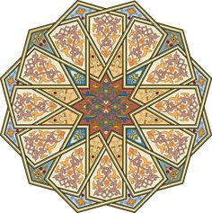 2-Arabesque (Islamic Art)