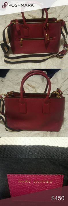 Marc Jacobs handbag M0008277 in merlot Bags Satchels