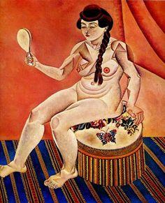 Nu avec miroir (1919) Huile sur toile (112 x 102) Joan MIRO