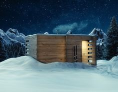 """Check out new work on my @Behance portfolio: """"Sauna House M"""" http://on.be.net/1Ijdwlr"""