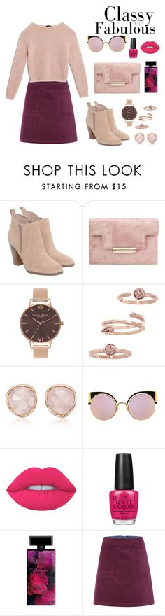 """Untitled #13"" by saba-malek-gdr ❤ liked on Polyvore featuring Michael Kors, Olivia Burton, Kendra Scott, Monica Vinader, Fendi, Lime Crime, OPI, Elizabeth Arden, White Stuff and Max&Co."