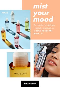 Essential Oils For Face, Neroli Oil, Face Spray, Healthy Skin Tips, Hydrate Hair, Oil Shop, Glossy Makeup, Citrus Oil, Facial Oil