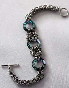 Custom Made Chainmaille Bracelet