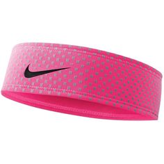 Nike Run Headband featuring polyvore, fashion, accessories, hair accessories, headbands, nike, accessories sport, pink, sports fashion, womens-fashion, hair band headband, sports headbands, headband hair accessories, head wrap headband and sport headbands