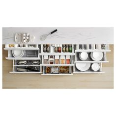 ekbacken-countertop-white-marble-effect-laminate-ikea - The world's most private search engine Laminate Countertops, Kitchen Countertops, Kitchen Cabinets, Inside Cabinets, Small Kitchen Organization, Kitchen Worktop, Countertop Materials, Marble Effect, Wet Rooms