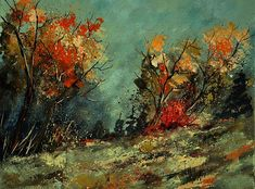0246  In The Wood 452101 Print by Pol Ledent