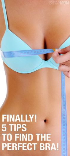 These 5 tips are great for helping you find the perfect fit for your next bra.