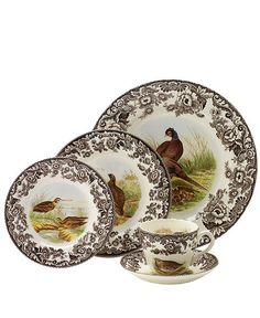 Spode Woodlands...perfect for Thanksgiving!