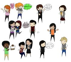 The Lizzie Bennet - Full Cast by King-of-Losers.deviantart.com on @deviantART