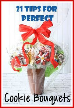 Cookie bouquet recipes