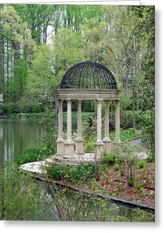 Longwood Gardens Gazebo II Acrylic Print by Sheila RodgersYou can find Longwood gardens and more on our website.Longwood Gardens Gazebo II Acrylic Print by Sheila Rodgers Beautiful Landscapes, Beautiful Gardens, Gazebos, Zen Space, Parks, Garden Gazebo, Backyard Gazebo, Longwood Gardens, Garden Structures