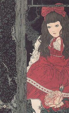 Elfen Lied Brasil : [+18] A Melancolia na Arte de Takato Yamamoto