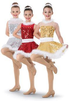 NEW FIGURE ICE SKATING BATON TWIRLING DRESS COSTUME DANCE COMPETITION CHRISTMAS