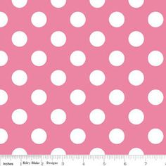Riley Blake Dots in Hot Pink  https://www.etsy.com/listing/130975189/riley-blake-designs-medium-dots-in-hot?ref=shop_home_active