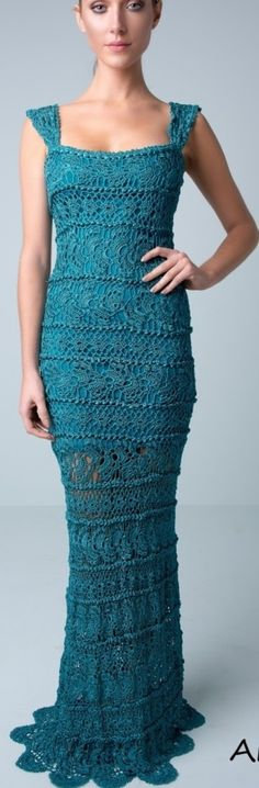 Anite crochet dress