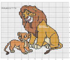 Fabinha Gráficos Para Bordados: O Rei Leão