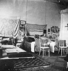 OTMA's bedroom while imprisoned in Tobolsk.