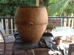 Tutorial - Giant Pots Made with New Cement/Paper Mache Clay Mixture | Ultimate Paper Mache