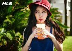 Suzy Is Sporty and Summery for MLB