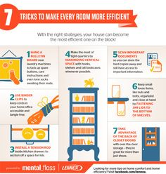7 Tricks to Make Every Room More Efficient