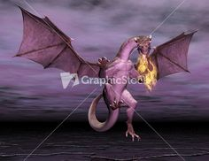 Dragon graphic stock